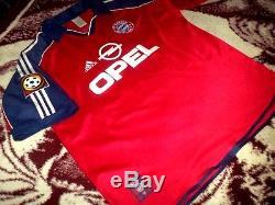 Jersey Bayern Munich Effenberg germany vintage rare soccer shirt authentic 2000