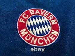 Jersey Bayern Munich Season 2002 / 2003 #1 Oliver Kahn Autographed by Player