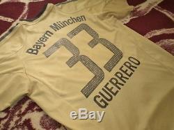 Jersey adidas bayern munich Paolo Guerrero shirt vintage 2005 05 bayer Peru