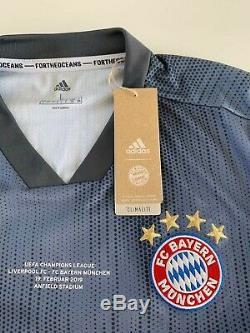 Joshua Kimmich signed Bayern Munich jersey v Liverpool 19. Feb. 2019 Champions Lg