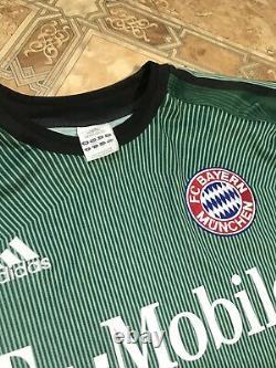Kahn 1 Very Rare Champions League Bayern Munchen 2003/2004 Gk Football Jersey