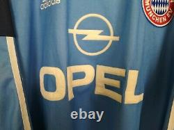 Kahn Bayern Munich Jersey 1999 2001 Goalkeeper MEDIUM Shirt Trikot Mens Adidas