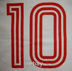 L Trikot European Cup Final 1974 Bayern München Munich Shirt Hoeness 10 Jersey