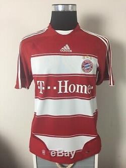 LAHM #21 Bayern Munich Home Football Shirt Jersey 2007/08 (M)