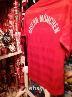 LOT RARE Football JERSEY SOCCER S 4 Bayern adidas trikot vintage Commodore SHIRT