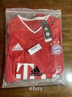 Lewandowski #9 2021 Bayern Munich 2021 Home Jersey Player Authentic Official