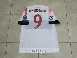 Lewandowski Bayern Munich Shirt Spielertrikot Jersey Player Issue Match Un Worn