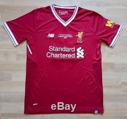 Liverpool Steven Gerrard Legends Match v Bayern Munich 24 Mar 2018 Rare Jersey L