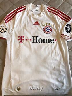 Luca Toni Bayern Munich Champions League Jersey Calcio Soccer Football