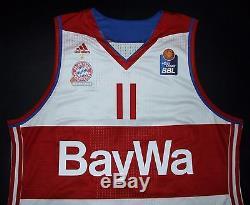 Lucic Bayern Munich Munchen Adidas Basketball Jersey Shirt Trikot FIBA Germany