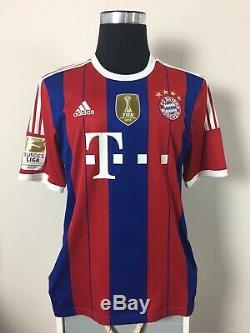 MULLER #25 Bayern Munich Home Football Shirt Jersey 2014/15 (L)