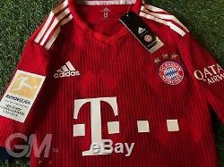 Maglia Adidas Authentic Clima Chill Jersey Bayern Monaco Munich Lewandowski 9 M