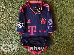 Maglia Adidas Clima Chill Jersey FC Bayern Monaco Munich UCL Lewandowski Thai M