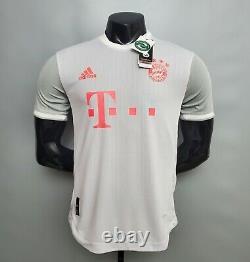 Maglia Bayern Munchen Away 20/21 Shirt Jersey Trikot New No Match Worn Issued