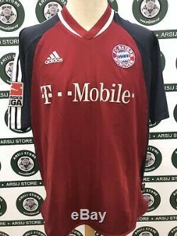Maglia Calcio Bayern Munchen 2002/03 Match Worn Shirt Trikot Jersey Maillot