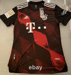 Maglia Jersey Fc Bayern Munchen Match Worn Player Issued Lewandoski Bundesliga
