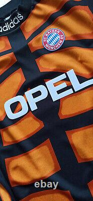 Maglia calcio adidas trikot Bayern Munchen vintage 1996 Jersey KAHN Goalkeeper