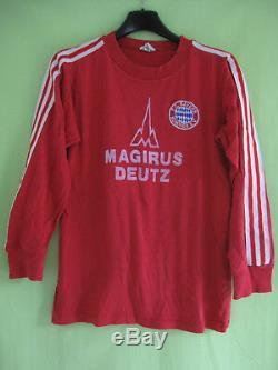 Maillot Bayern Munich Magirus Deutz Munchen Erima vintage Jersey S