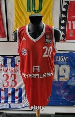 Maillot jersey trikot basketball serbia fiba savanovic bayern munich serbie L