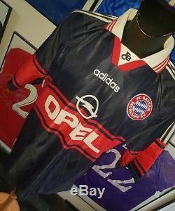 Maillot jersey trikot shirt maglia camiseta Bayern munchen Munich matthaus 1999