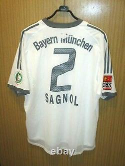 Maillot porté shirt jersey worn trikot SAGNOL BAYERN MUNCHEN MUNICH 2003-2004