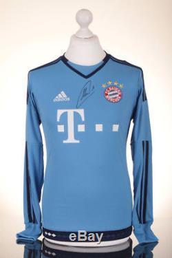 f83fe29c9 Manuel Neuer Signed Shirt Bayern Munich Autograph Gk Jersey Memorabilia Coa