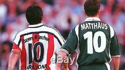 Maradona #10 Jersey Camiseta Bayern Munich Farewell Of Lothar Matthaeus Rare