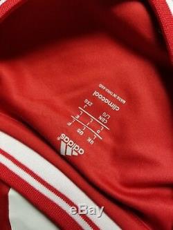 Mario Gotze #19 Fc Bayern Munich Adidas Star Ball Respect Jersey Large Football