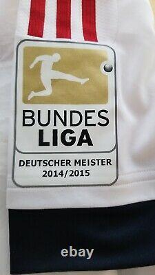 Mario Gotze Kit Room Jersey 2014/2105 FC Bayern munich 2014 World Cup Winner