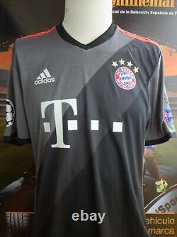 Match Issue Worn Fc Bayern Munchen Muller Maglia Trikot Maillot Shirt Jersey
