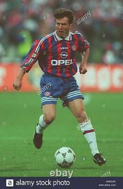 Match Worn Bayern Munich 1996/1997 Matthaus Soccer Football Shirt Jersey Size L