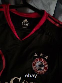 Match Worn Jersey Makaay Bayern Munich Champions League Trikot Maillot