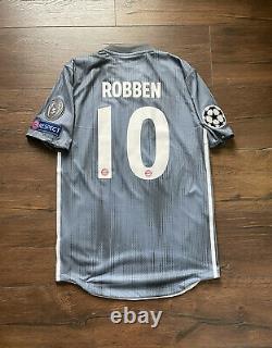 Match Worn Player Issue Arjen Robben Bayern Munich Munchen Jersey Trikot