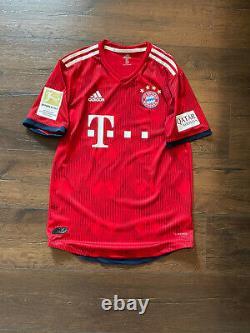 Match Worn Player Issue Coman France Bayern Munich Munchen Jersey Trikot