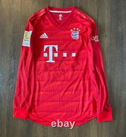 Match Worn Player Issue Lyon Tolisso Bayern Munich Munchen Jersey Trikot Medium