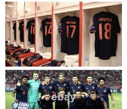 Match Worn Player Issue Perisic Bayern Munich Munchen Jersey Trikot Shirt