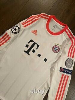 Match Worn Player Issue Schweinsteiger Bayern Munich Munchen Jersey Trikot Large