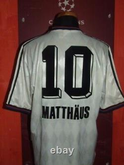 Matthäus 1995/1996 Bayern Munchen Maglia Shirt Calcio Football Maillot Jersey
