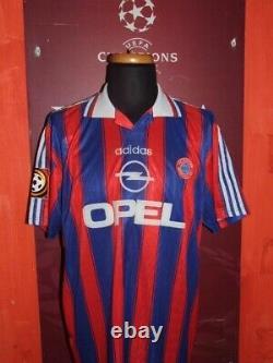 Matthäus 1996/1997 Bayern Munchen Maglia Shirt Calcio Football Maillot Jersey