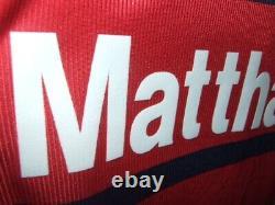Matthäus 1998/1999 Bayern Munchen Maglia Shirt Calcio Football Maillot Jersey