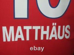 Matthäus 1999/2000 Bayern Munchen Maglia Shirt Calcio Football Maillot Jersey