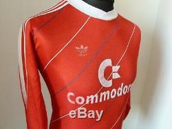 Medium 1985 LS BAYERN MUNICH FOOTBALL Soccer JERSEY trikot SOCCER JERSEY Munchen