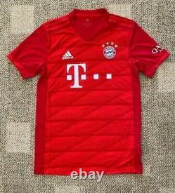 Mens FC Bayern Munich Home Soccer Jersey True Red Size XL Climalite
