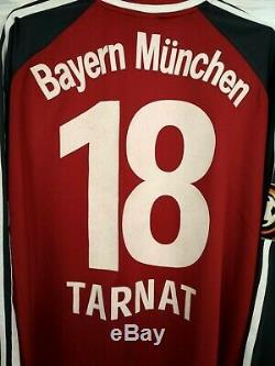 Michael Tarnat Bayern Munich Jersey XL Match Worn 2001 2002 Shirt Adidas VS2116