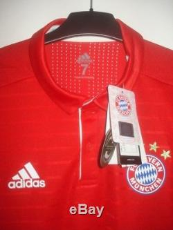 NEW Adidas Adizero BAYERN MUNICH Player Issue NO MATCH WORN Jersey Shirt Maillot