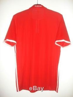 NEW Adidas Adizero BAYERN MUNICH Player Issue NO MATCH WORN Shirt Jersey Trikot