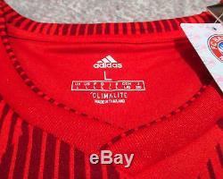 NEW Alphonso Davies Signed FC Bayern Munich Jersey PROOF COA Whitecaps