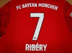 NEW Bayern Munchen #7 RIBERY 2018 2019 HOME shirt jersey trikot soccer FOOTBALL