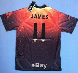 NEW Bayern Munich Adidas EA Sports jersey #11 James patch Medium