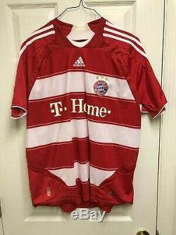 NWOT 2007/09 Bayern Munich Home XL Jersey #31 Bastian Schweinsteiger Adidas Red